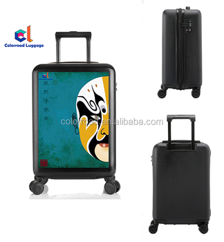 "New Trendy Fashion Luggage Sets Women Kids Travel Trolley Suitcase 16"", 20"", 24"", 28"" Customized Design Trolley Luggage Bags"