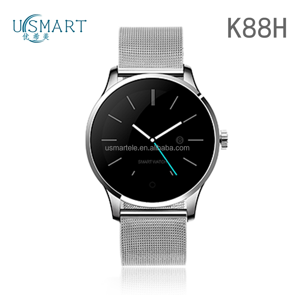 water proof IP67 smartwatch K88h smartwatch metal watch connect with smart phone 4g online shopping in the Canada usmart