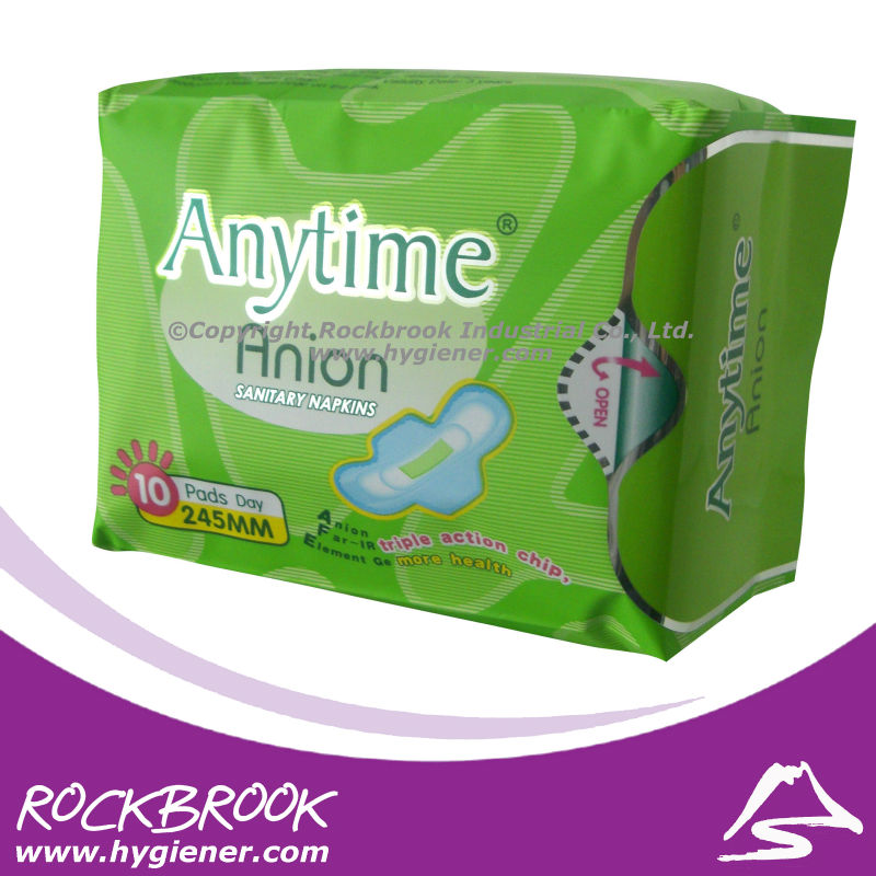 [Hot!] Love anion sanitary napkin/negative ion sanitary napkin with competitive price