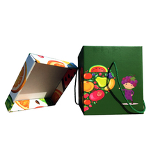 N044 Custom dampproof vegetable fruit packing corrugated carton box