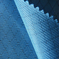 electric conductive fabric for conduction polyester knitted warp fabric for function wear /shoe/gloves