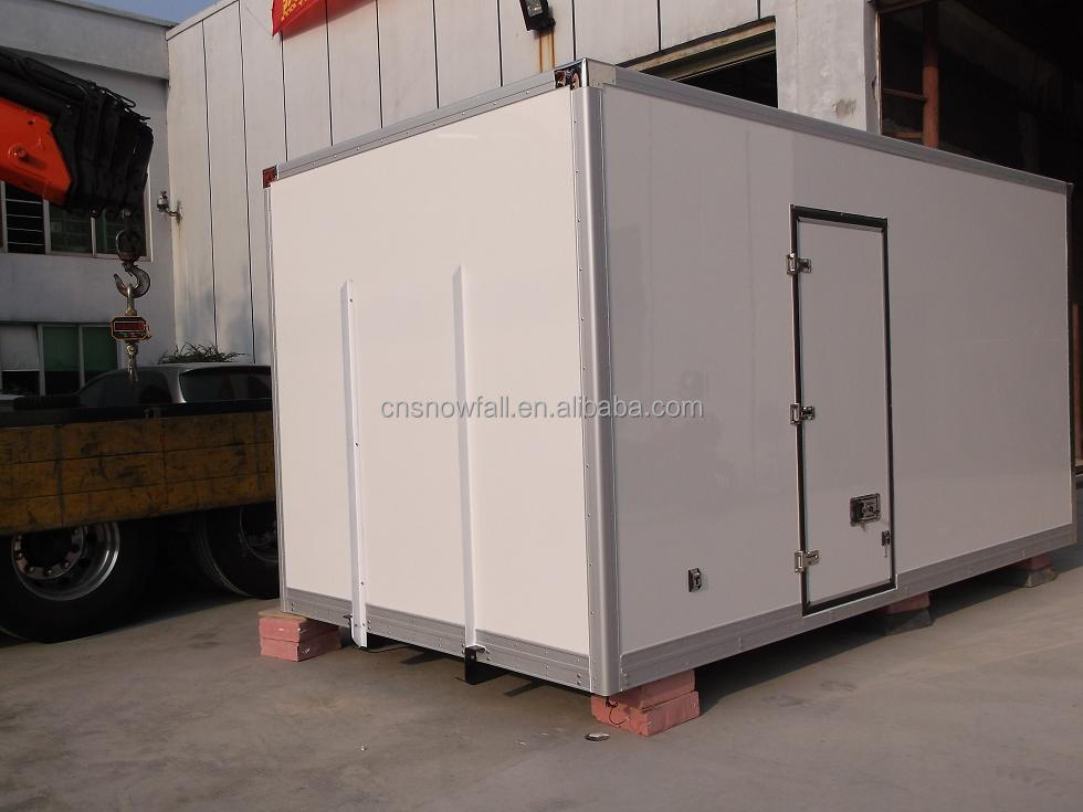 CBU honeycomb Dry cargo truck body/box