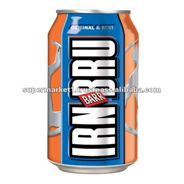 Irn Bru Soft Drink - 330ml Cans - 24x = 1 Case