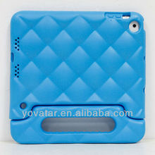 New arrival EVA Kids Children Friendly Shock Proof Cover Cute Case with Stand for iPad Mini