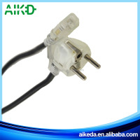European plug high quality good material power cord with plug