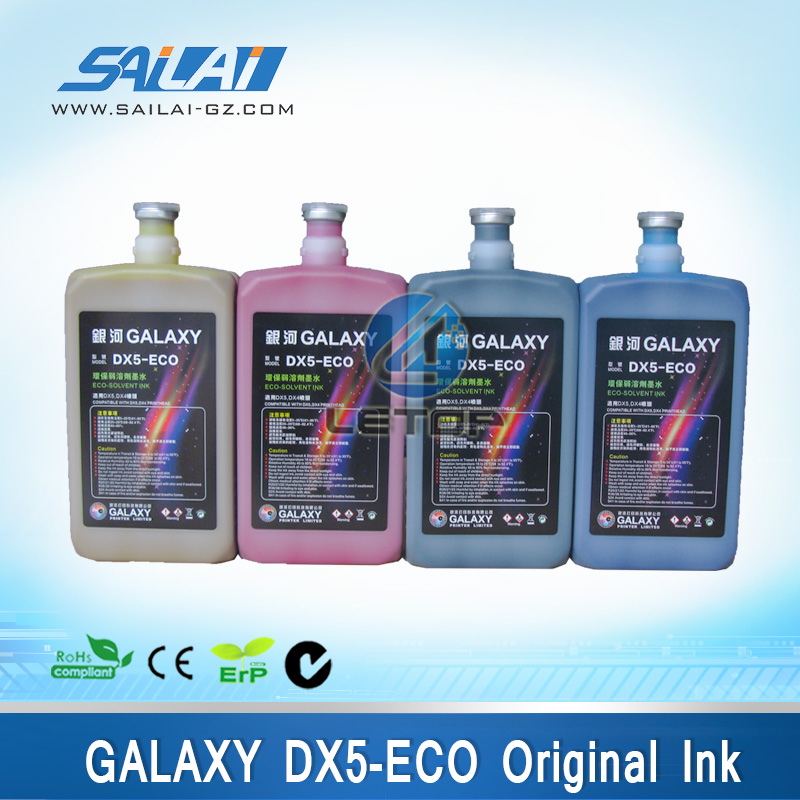 digital printer dx5/dx7 printhead galaxy dx5 eco solvent textile ink
