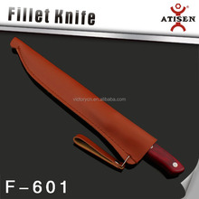 3Cr14 Stainless Steel Color Wooden Handle Knife