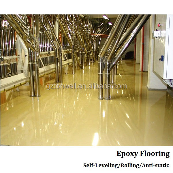 Anti-static epoxy floor paint for electronics factory