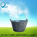 large rubber bucket with handle/construction Rubber Pails