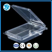 Good Quality Blister Packaging Clamshell For Vegetable Custom Retail Box Plastic Food Containers Packing