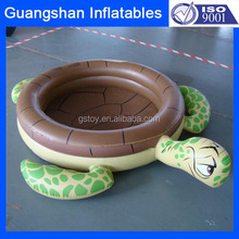inflatable cartoon tortoise padding pool