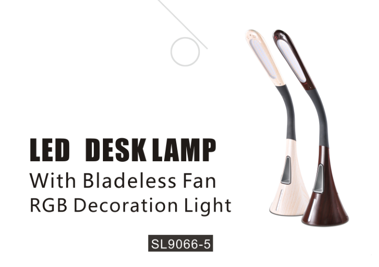Touch Control Led Desk Lamp with Night Light