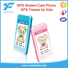 GPS tracker kids cell phone quadband children phone web-based GPS tracking syst
