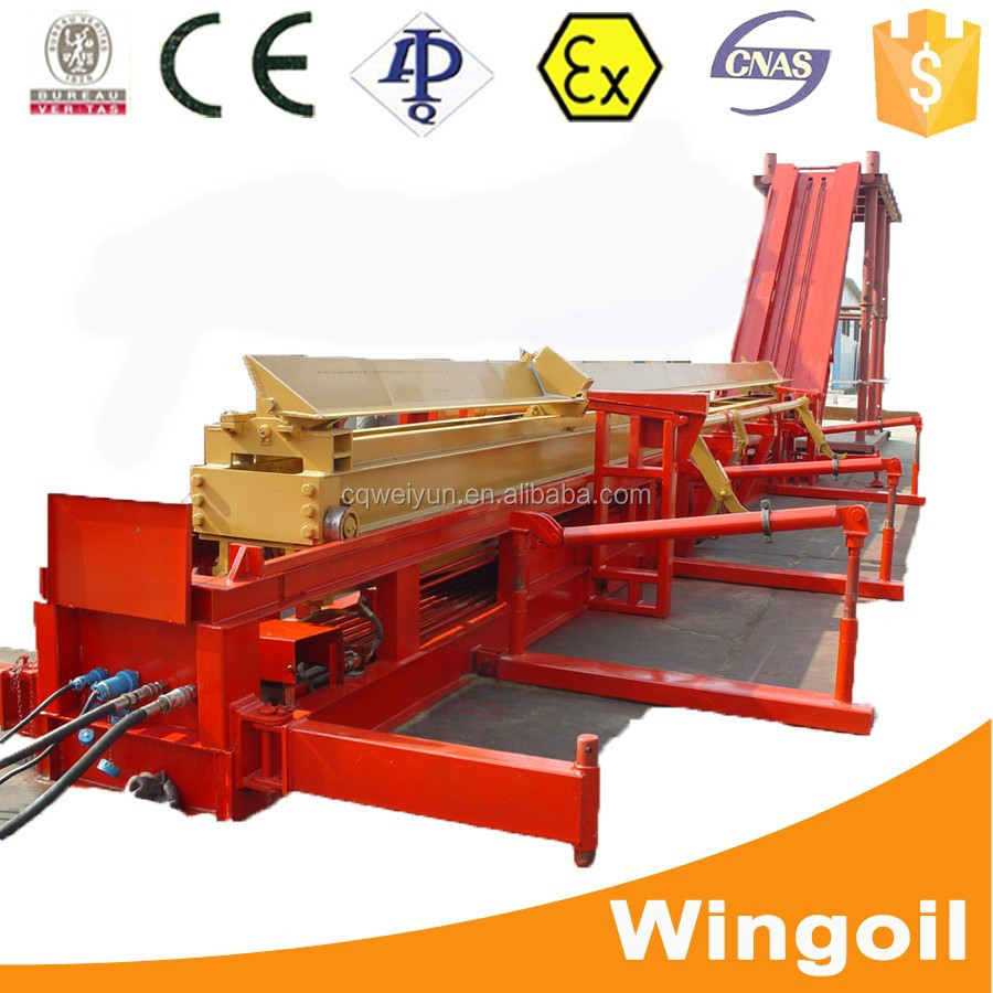 Transmission Hydraulic Workover Rig Catwalk For Oil And Gas Onshore & Offshore Well Operation