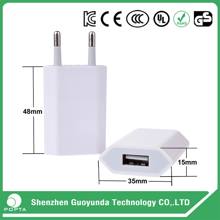 GuoYunDa 2.1a uk wall charger, wall charger for moto x, charger 8.4v 500ma