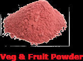 Vegetable & Fruit Powder