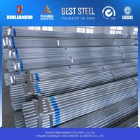 Q195 GI pipe/pre galvanized steel pipe for water gas and vapor transportation