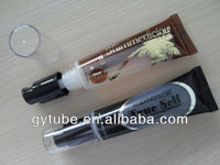 foundation container with pump plastic tube cosmetic packing