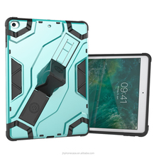 Hard metal PC multifunctional armour portable case for iPad 9.7 for iPad case with stealth hand belt