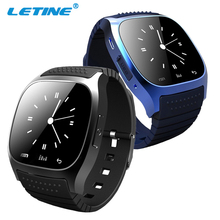 new products BT4.0+Aluminium Case+Sync phone cheap M26 bluetooth android 2014 smart watch