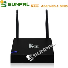 kiii android s905 tv box 2g 16g Best Price Tv Box Amogic S905 Android 5.1 Quad Core Kiii Smart Tv Box K3