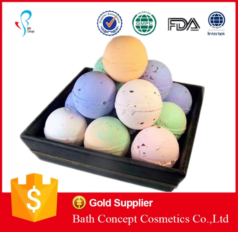 packaging fizzy bath bombs wholesale (OEM factory)