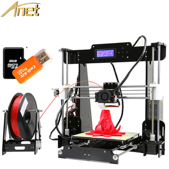 Professional Anet A8 3d desktop printer prusa i3 digital 3d printer DIY 3d printer kit