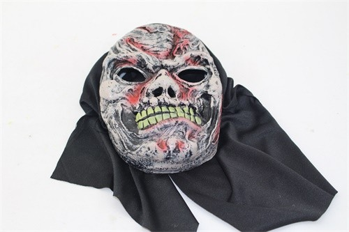 hot sale transparent ugly halloween mask scary