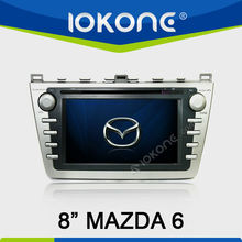 "8"" in dash 2din car audio system for mazda6"