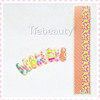 Chinese factory colorful design nail stripe metal nail sticker nail art design