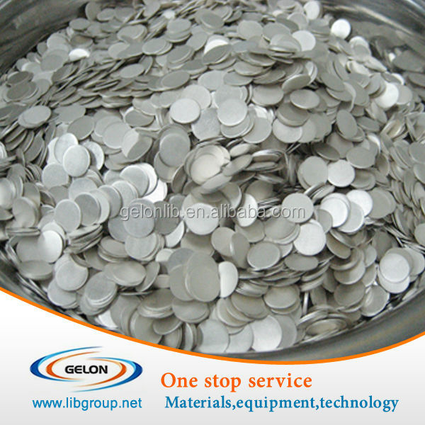 CR2032 button cells battery type lithium chips 15.6*0.25mm size