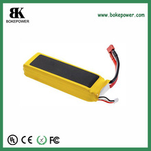 customized 11.1V 5000mAh High rate lipo rc batteries