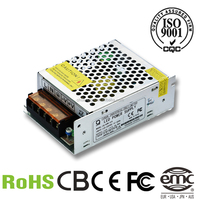 Free sample 60W 12V 5A Single Output switching power supply led driver