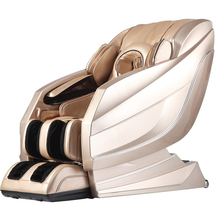 Full Leather Cover L Track Massage Mechanism Chair Full Body