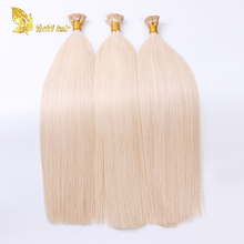 Double drawn Russian Virgin Pre-Bonded Extension I U Flat Tip Hair Weave Wholesale Uk