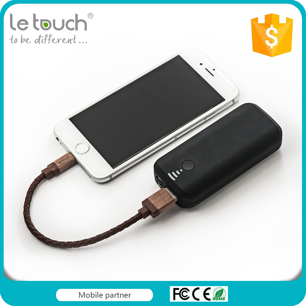 Factory manufacture black ABS housing rohs power bank charger with 4000mAh capacity
