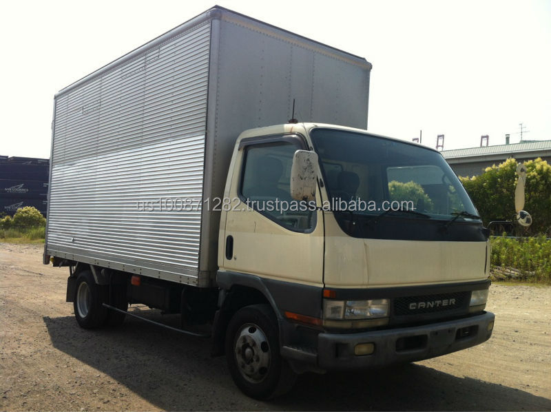 Used Mitsubishi Canter 3.5 ton Aluminum Van, Export from Japan