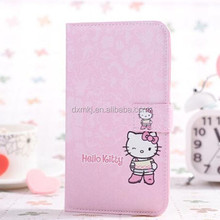 compact flip stitching case for iphone 5 hello Kitty