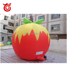 Cheap new design giant inflatable apple,inflatable tomato for advertising