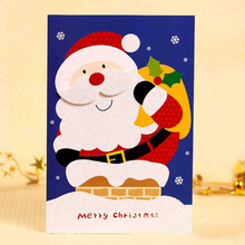 Greeting navidad Merry christmas card