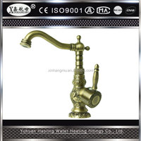Vintage New Style Antique Basin Brass Shower Mixer Faucet Bathroom Water Tap