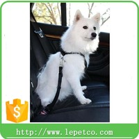 wholesale low price adjustable Car Vehicle Auto Seat Safety Belt Seatbelt Lead for Dog Pet