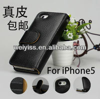 Genuine Leather Western Cell Phone Cases for iphone 5 wholesale price