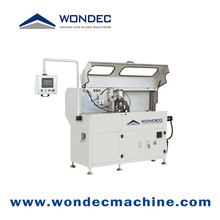 Fully Automatic Aluminum Corner Connector Profile CNC Cutting Saw Machine