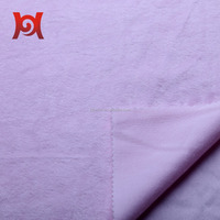 100% Polyester Dyeing Super Soft Short Plush Fabric, Plush Fleece Fabric