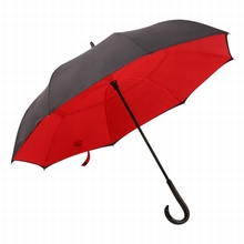Famous Brand Sun and rain best selling c handle umbrella windproof reverse