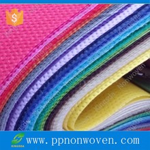 100% PP recycled used Spunbonded Nonwoven Fabric raw material
