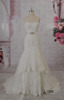 High Neck Sleeveless Beaded Belt design traditional wedding gown L1204