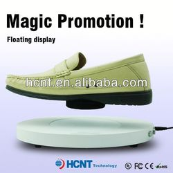 new invention ! magnetic levitating led display stand for shoe woman,famous brand leather shoes