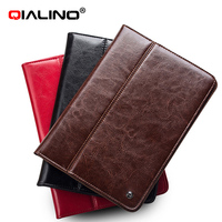 QIALINO Hot Sale Premium Luxury Leather Stand Case For iPad Air 1